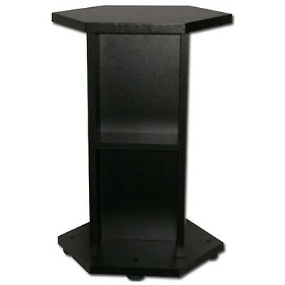 Black Stand Aquael Hexset 60L Indoor Aquatics Aquarium Stands Cabinet