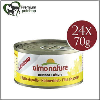 Almo Nature Legend Cat Food Chicken Breast 70g Wet Food for Cats