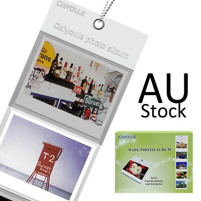 Display Wall Hanging Album 1Pcs For Fujifilm Instax Wide 210 300 Camera Film AU
