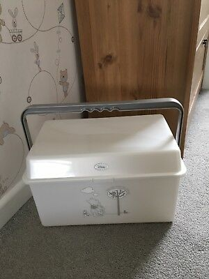 Disney Winnie The Pooh nursery/bath/nappy box. In Excellent Condition.