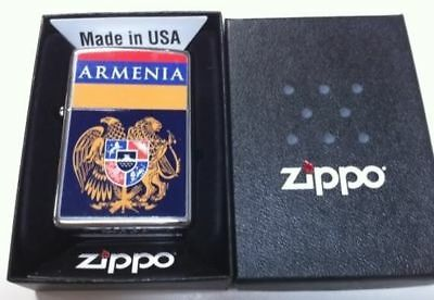 Zippo Lighter Custom Design Armenian Armenia Flag Free Shipping #3