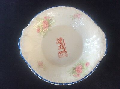Glasgow Scottish 1938 Empire Exhibition WH GOSS Trinket Dish 1 Red Rearing Lion
