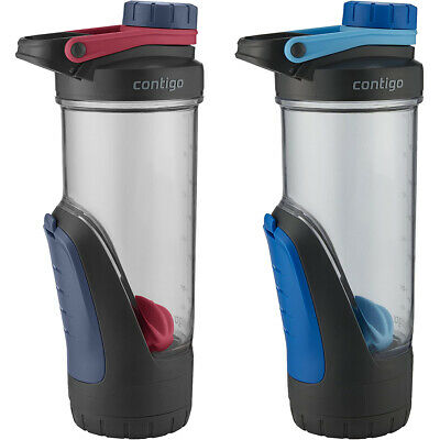 Contigo 24 oz. Shake & Go Fit Shaker Bottle with Gym Storage