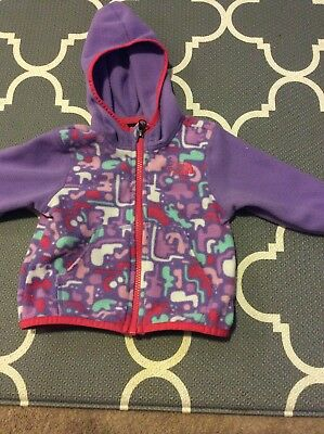 The North Face Infant Light Weight Fleece Sweater Size 6-12 Months