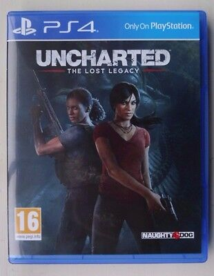 Uncharted The Lost Legacy PlayStation 4 Game PS