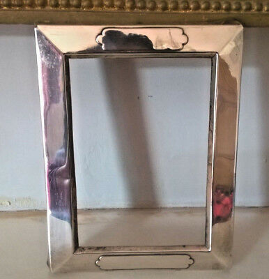 Antique Art Deco  William Comyns Solid Silver Picture Frame Mount-1903