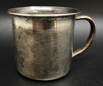 Vintage Wallace 925 Sterling Silver Baby Cup, 46g (RF703)