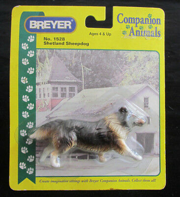 Breyer No. 1528 Shetland Sheepdog Companion Animal Model in Package never opened