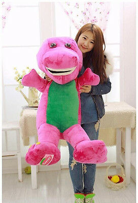 """35.5"""" Gaint  Big The Barney Dinosaur Plush Soft Doll Baby Toys Pillow Kids Gifts"""