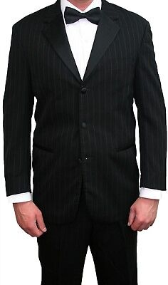 Ralph Lauren Black Starwood Tuxedo Jacket & Pants Discount Prom Tux FREE Shirt