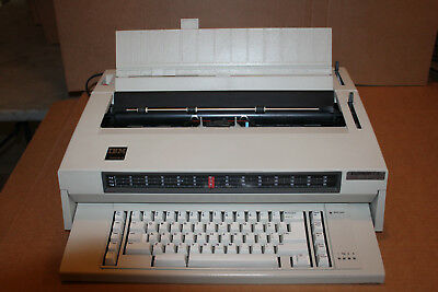 IBM Wheelwriter 3 Electronic Office Typewriter – Used Works! Word Typing Machine