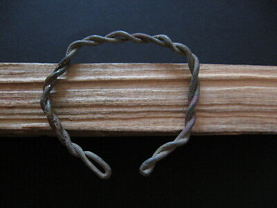 Bronze Age Ancient Celtic Bronze Twisted Wire Bracelet 900-750 B.c.