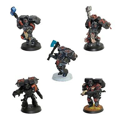 Warhammer 40K Blood Angels Space Marines Death Company Painted