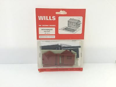 Wills SS16 OO Gauge Weighbridge & Hut Kit