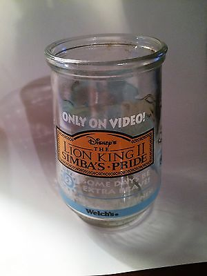 Welch's Lion King II Simba's Pride Glass #5 - Some Days Be Extra Brave