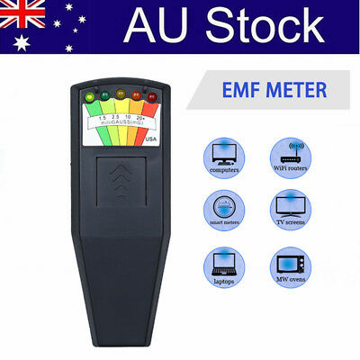 Hot Electromagnetic Radiation Detector LCD General EMF Meter Dosimeter Tester