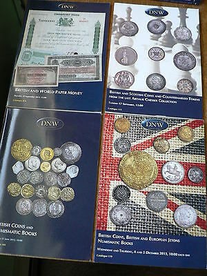 Coin Auction Catalogs DNW 7 book lot -NICE!!!! (lot#2)