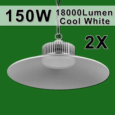2X150W LED High Bay Light Commercial Warehouse Industrial Factory Shed Lamp 240V