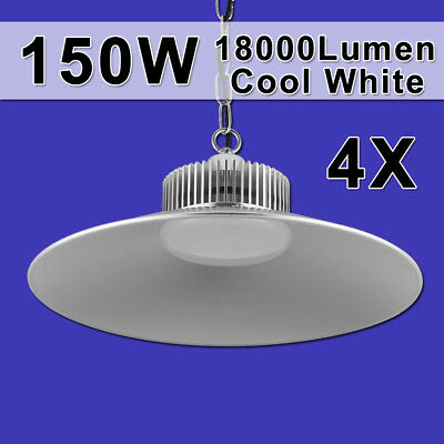 4X150W LED High Bay Light Commercial Warehouse Industrial Factory Shed Lamp 240V