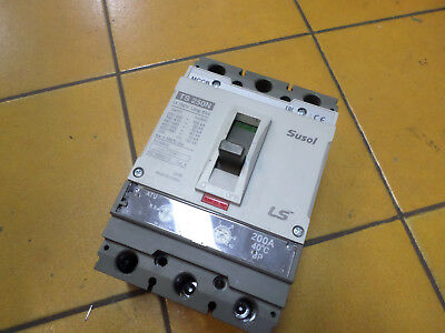 SUSOL MCCB CIRCUIT BREAKER -- 200amps 3 pole  w/Thermal and magnetic trip TS250N
