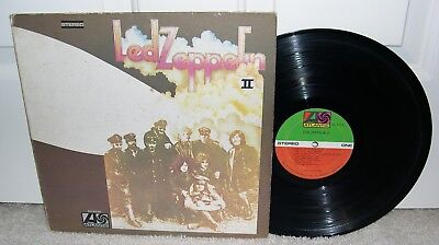 Classic Led Zeppelin 2 Ii Lp Us Atlantic Vinyl Whole