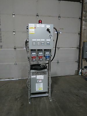 Power Distribution Panel Transformer Plug Ins 480 DELTA to 208 WYE
