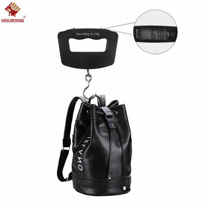 50kg/10g Digital LCD Portable Electronic Luggage Hanging Weight Hook Scale NEW