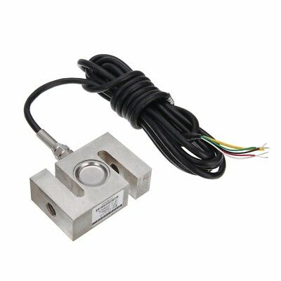 "0-500kg S Type Alloy Steel Weighting Sensor Beam Load Cell Scale 2.95*1.97"" New"