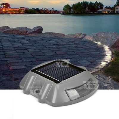 Solar Path Deck Light Road Stud LED Garden Driveway Security Lamp Outdoor Stairs