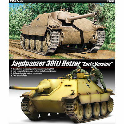 "ACADEMY #13278 1/35 Plastic Model Kit Jagdpanzer 38(t) HETZER ""Early Version"""
