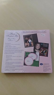 Creative Memories 7x7 Black refill pages