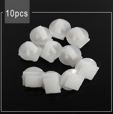 10x ABS Rivet Push Expert Door Moulding Clips For Peugeot 106 206 306 307 806