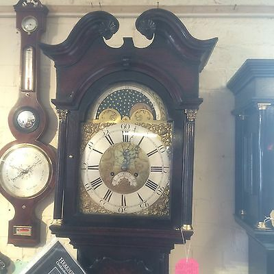 Brass Dial Moonphase Grandfather/longcase Clock(Phillips Of Bromyard