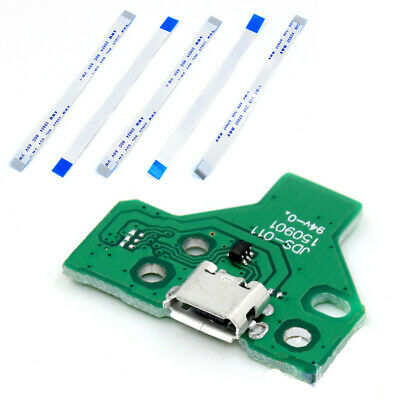 USB Charger Charging Port Socket Circuit Board JDS-011 12 Pin For PS4 Controller