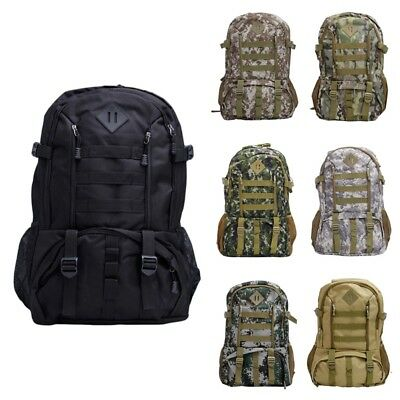 50L Outdoor Sport Bags Mountaineering Hiking Traveling Camping Backpack