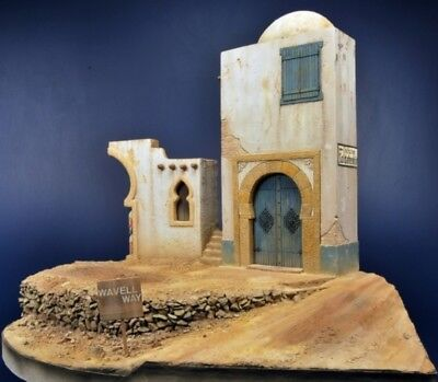 Reality In Scale 1:35 North African House Front - Resin Diorama Accessory #35023