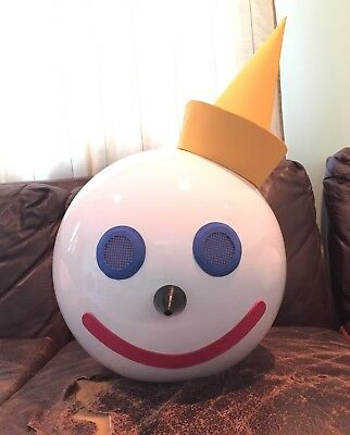 Giant Jack In the box head halloween costume in the box