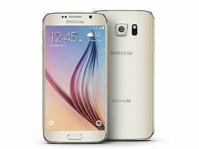 Samsung Galaxy S6 (Verizon), Black/White/Gold, 32GB/64GB/128GB
