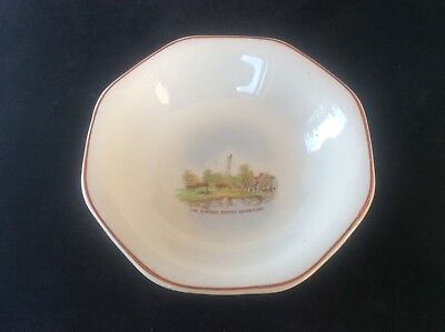 Glasgow Scottish 1938 Empire Exhibition WH GOSS Trinket Dish Bowl The Clachan 22