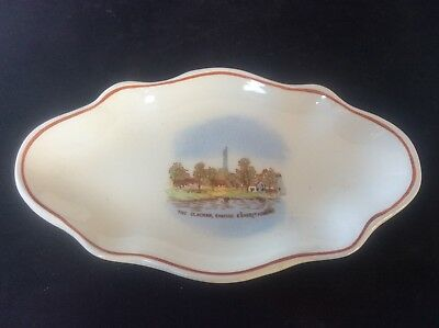 Glasgow Scottish 1938 Empire Exhibition WH GOSS Trinket Dish Bowl The Clacham 26