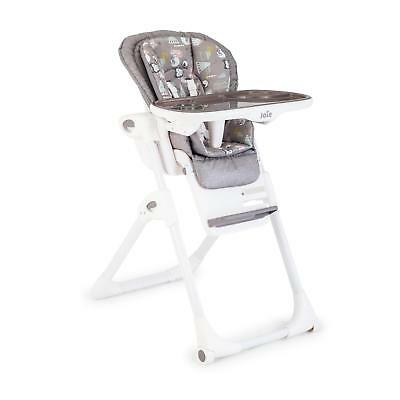 Joie Mimzy LX Baby Highchair Foldable Recline Height Adjustable Feeding Seat