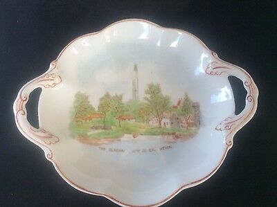 Glasgow Scottish 1938 Empire Exhibition WH GOSS 2 handled Dish Bowl The Clachan