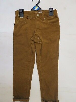 Boys cords corduroy chino trouser M & S age 7 8 9 10 11 12 13 14 years tan NEW