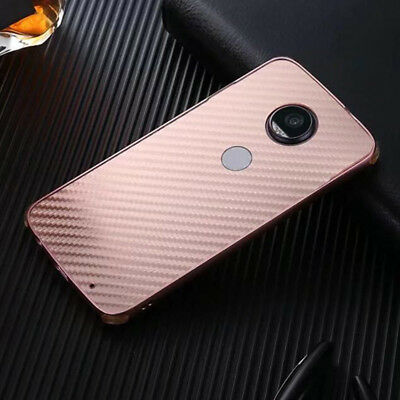 Luxury Carbon Fibre Thin  Metal Bumper Hard Back Case Cover For Various Phones