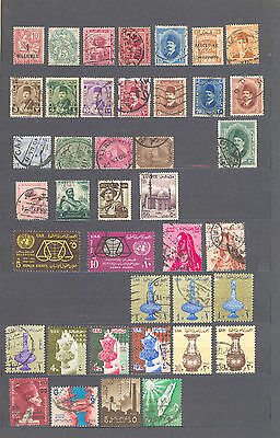 Briefmarken Ägypten - Egypt - Port Said