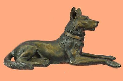 Rare Sculpture BASENJI dog HAND PAINTED FIGURINE 100% Real COLLECTIBLE puppy NEW