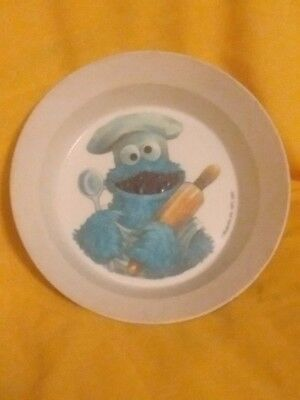 1971 Cookie Monster bowl from muppets inc. Great shape