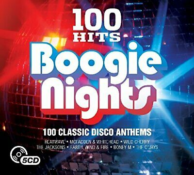 Various Artists - 100 Hits: Boogie Nights - Various Artists CD 4BVG The Cheap
