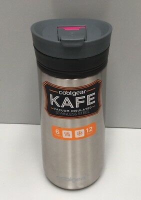 Cool Gear Kafe 429Ml Stainless Steel Coffee Travel Mug