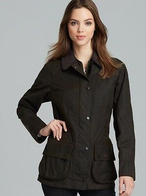 Barbour Classic Beadnell Giacca Donna Uk 10